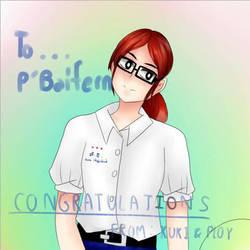Congratulations by shieriooriri