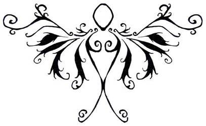 Feminine Tribal Angel by The-Fattness