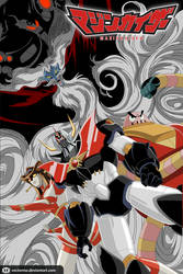 Mazinkaiser vs Dr. Hell by vectormz
