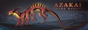 [CLOSED] Adopt auction - AZAKAI by Terriniss