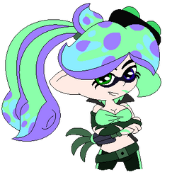 A Punk Squid by SuperLuigi1025