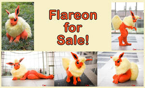 Flareon Sold by Metal-CosxArt