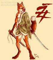 Kitsune by filhotedeleao