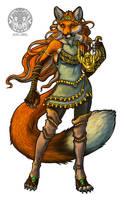 Fox Minstrel by filhotedeleao