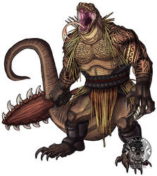 Komodo-kin Champion by filhotedeleao