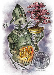 Steampunk Bonsai by filhotedeleao