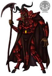 Satanic Goat by filhotedeleao
