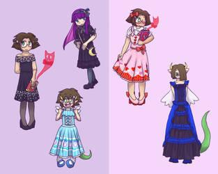 Fancy Dress Party~! by pepdog1