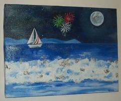 italian fireworks by Frollino