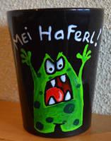 Austrian dialect-Mug: Mei Haferl by Frollino