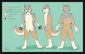 wolf character sheet by Davuu