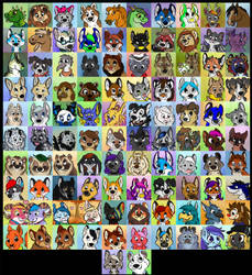 100 Icon Challenge by Davuu