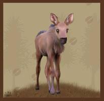 Baby Moose V2 by Davuu