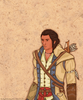 Connor Kenway by BeckyTheBunny