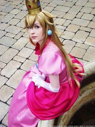 Princess Peach - Oh, Hi There by NailoSyanodel