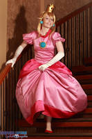 Princess Peach - Coming for you by NailoSyanodel