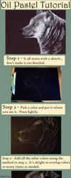 Oil Pastel Tutorial by dream-puddle