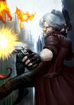 Dante Devil May Cry 5 by SonnizzleArt