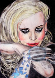 Maria Brink (re-update)  by ConileArt