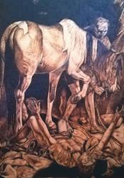 Conversione di San Paolo - Caravaggio  by ConileArt