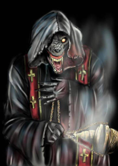 Powerwolf - The sacrament of sin  by ConileArt