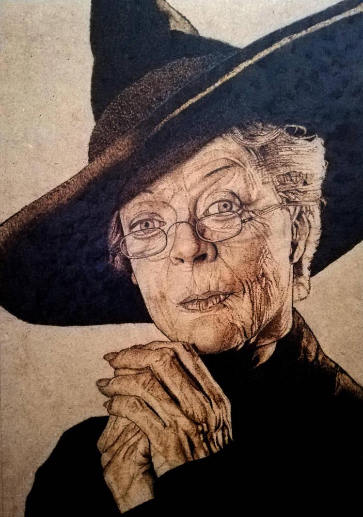 Minerva McGonagall  by ConileArt