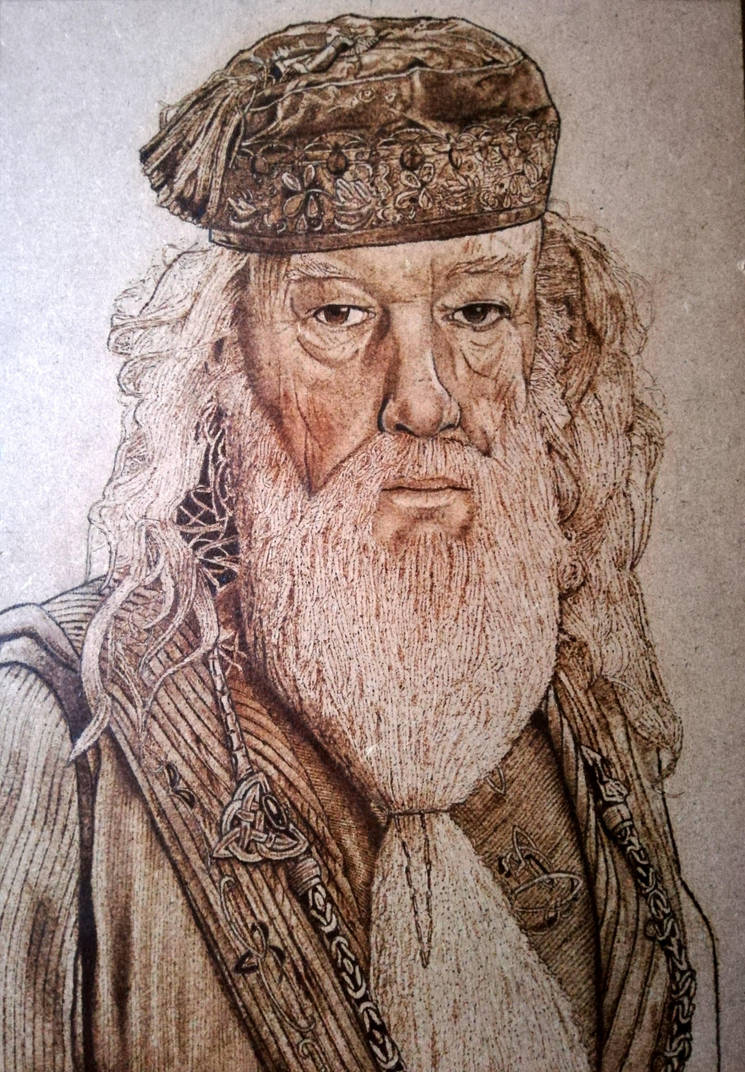Albus Dumbledore  by ConileArt