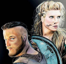 Vikings is coming!  by ConileArt