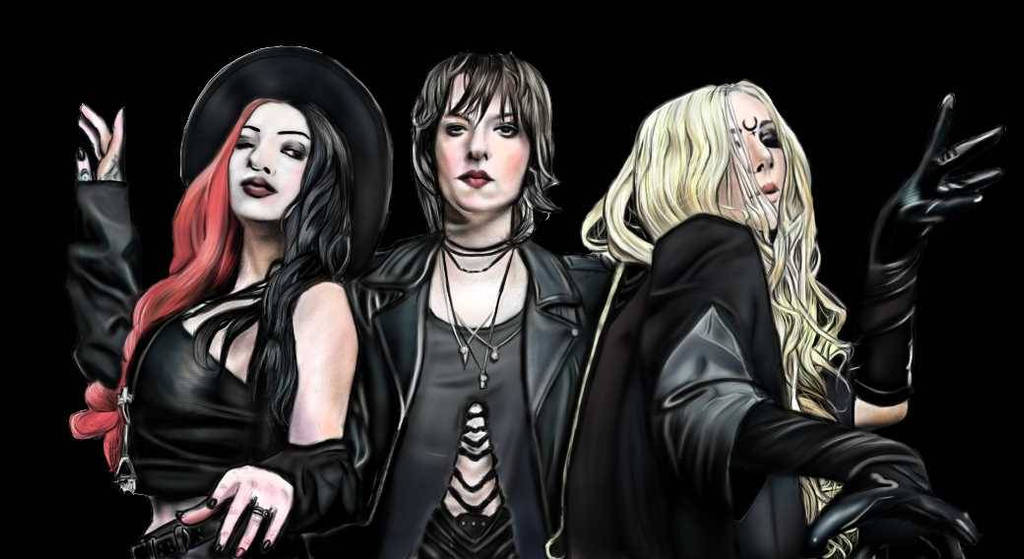 Goddesses of metal by ConileArt