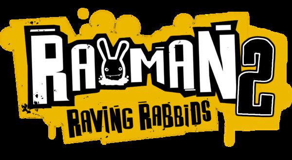 Rayman Raving Rabbids 2 Prototype Logo by asherbuddy