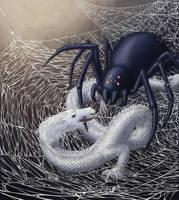 Neverending Story - Ygramul versus Fuchur by Tiny-Meddwyn