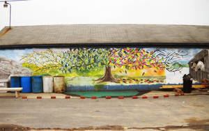 Country Wall Mural - DuBois PA by RLS0812