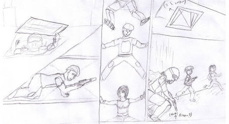 Comic Sketch by Jetrunner