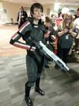 Commander Shepard (Ohayocon) by Jetrunner