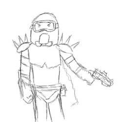 Lightfire Fail Sketch by Jetrunner