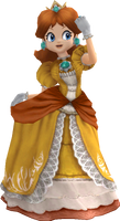 Better Daisy in SSBB Render (Artwork) by CAHoltz