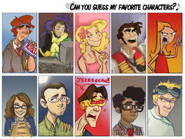 favourite character meme by Prydester