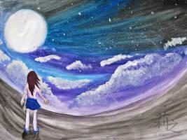 Under the Moon. by lizjowen