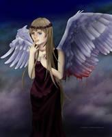 Angel - Commission. by lizjowen
