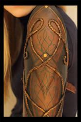 Woodelf Bracers - Detail by MissViscid