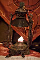 Crystal rock lamp by MissViscid