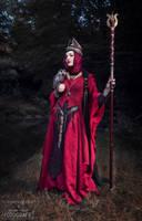 Fantasy Wizard Costume *Azah Ghazal* by MissViscid