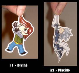 Paperchildren Divine + Placido by KarniMolly