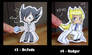 Paperchildren Dr.Fudo + Rudger by KarniMolly