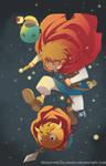 Ni No Kuni-Oliver and Friends by HeavyMetalHanzo