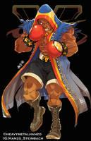 Street Fighter V-Balrog by HeavyMetalHanzo