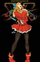 Street Fighter V-Karin by HeavyMetalHanzo