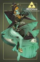 Twilight Princess-Midna by HeavyMetalHanzo