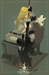 Sniper Wolf by HeavyMetalHanzo