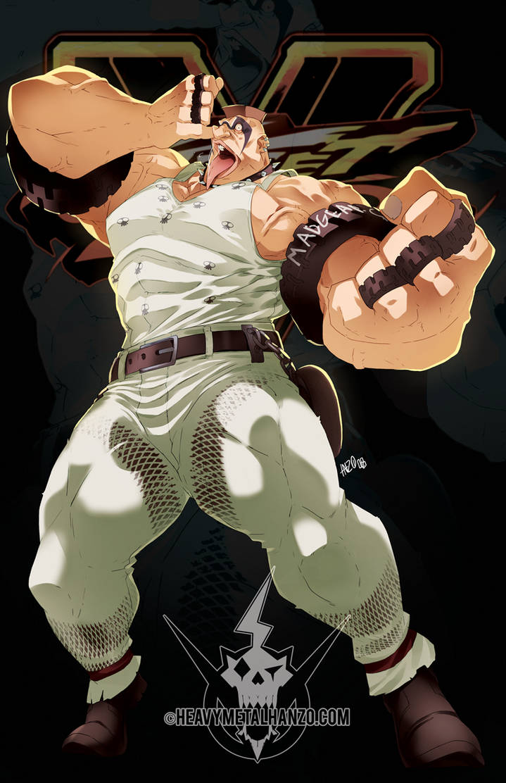 Street Fighter V-Abigail by HeavyMetalHanzo